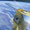 An artist's impression of one of the Pleiades satellites which provide 0.5 m high resolution image data for military and civil applications. Image: Defence/Digital Globe