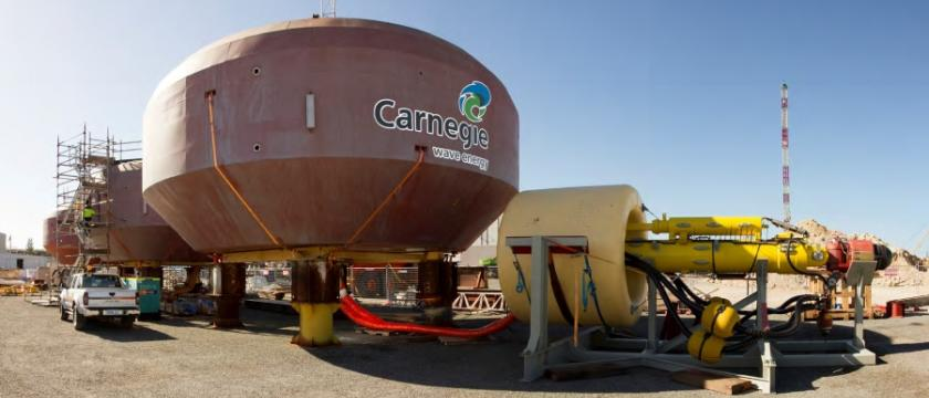 The CETO system is a wave energy solution which operates underwater converting ocean wave energy into zero-emission electricity and desalinated water.