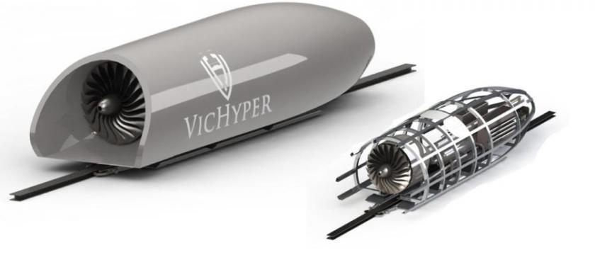 RMIT team behind vacuum travel pod rewarded for revolutionary design
