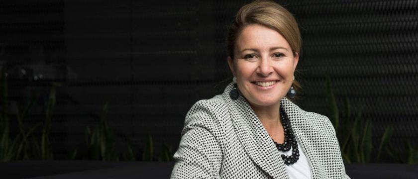 AECOM Chief Executive Lara Poloni.