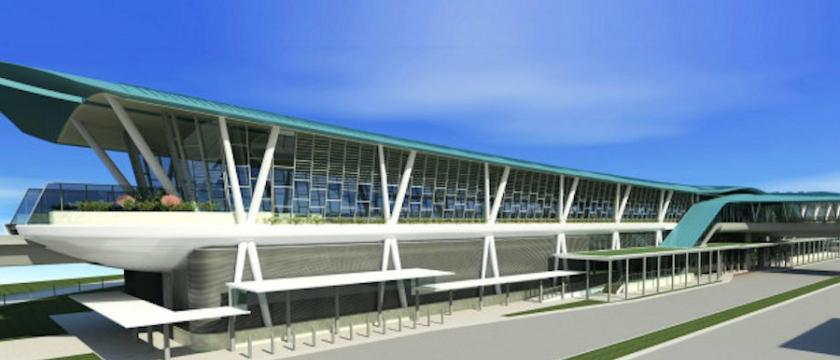 The construction of Canberra rail station in Singapore is one of Surbana Jurong's projects. Image: Surbana Jurong
