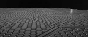 Solar Roadways is a startup whose hexagonal modular paving tiles combine specially engineered solar cells, alongside LED lights that are able to create lines and signage without difficulty.