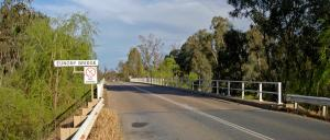 The Eunony Bridge in Wagga Wagga is set to be replaced. Photo: Bidgee