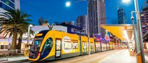 Gold Coast light rail. Photo: CPB Contractors