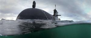 HMAS Waller, one of the Australian Navy's Collins-class submarines. Photo: Bill Louys/Department of Defence