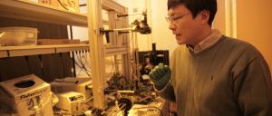 Professor Hongrui Jiang. Photo: Stephanie Precourt