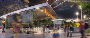An artist's impression of the Wollongabba Station on the Cross River Rail. Photo: Queensland Government