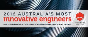 2016 Australia's most innovative engineers