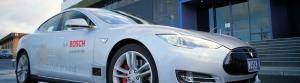 The Bosch self-driving vehicle. Photo: Bosch