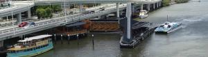 Brisbane's flood-resistant ferry wharves were rewarded at the Australian Engineering Excellence Awards.