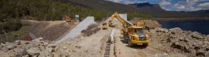Dam refurbishment in Tasmania wins project management award