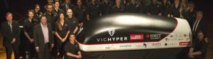The VicHyper team. Photo: RMIT