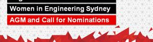 Women in Engineering Sydney AGM and Call for Nominations
