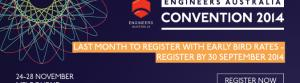 Convention 2014 will be the largest engineering event ever held in the Southern Hemisphere.